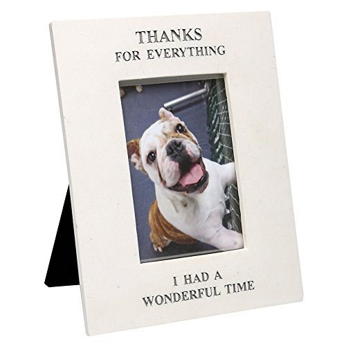 Thanks for Everything Pet Memorial Rectangle Picture Frame