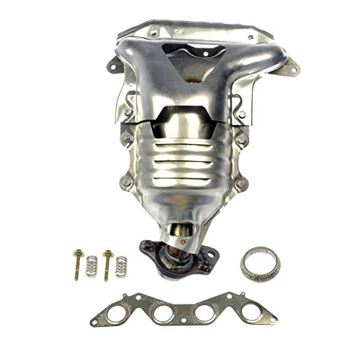Dorman 673-608 Exhaust Manifold with Integrated Catalytic Converter (CARB Compliant), Black