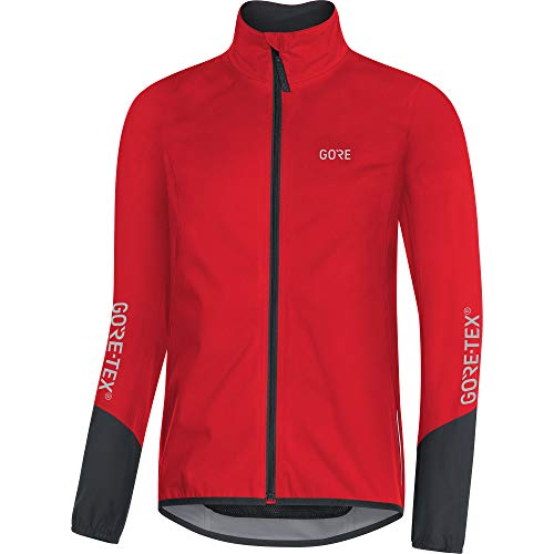 GORE WEAR Herren C5 Gore-tex Active Jacke, red/black, L EU