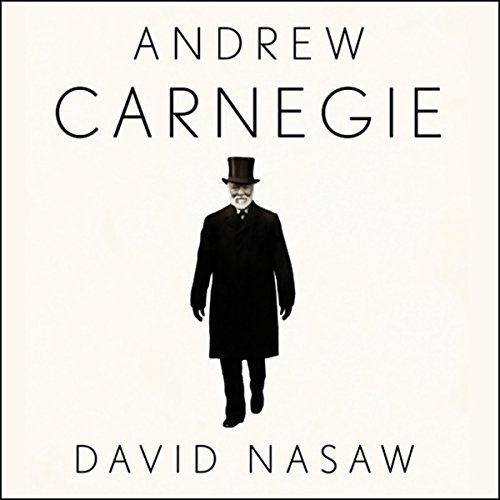 Andrew Carnegie audiobook cover art