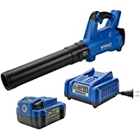 Kobalt 100 MPH 24-Volt Max Lithium Ion (Li-Ion) Brushless Cordless Electric Leaf Blower (Battery Included)