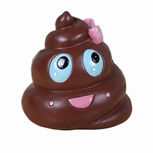 Hogar Cocina Huchas Smiley Emoji Money Box Poo Emoji