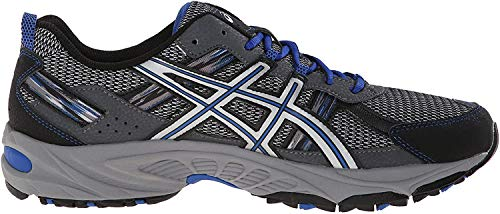 ASICS Men's Gel-Venture 5-M, Silver/Light Grey/Royal, 13 M US