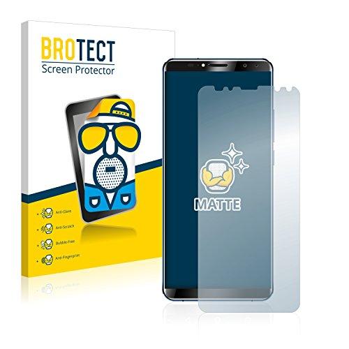 BROTECT 2X Entspiegelungs-Schutzfolie kompatibel mit Oukitel K6 Bildschirmschutz-Folie Matt, Anti-Reflex, Anti-Fingerprint