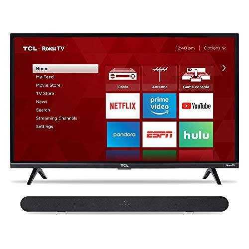 """TCL 32"""" TV & Alto 6 Sound Bar"""