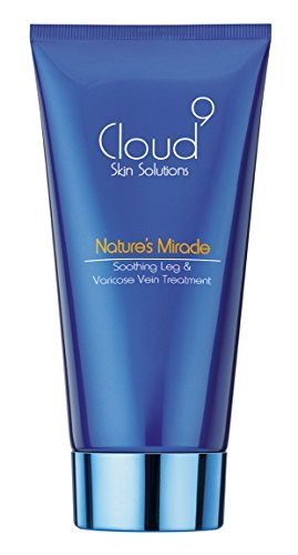 Nature's Miracle Varicose Vein & Soothing Leg Cream - Clinically Proven - by Award-Winning Cloud 9 Skin Solutions