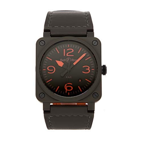 Bell and Ross MA-1 Pilot Automatic Men's Watch BR0392-KAO-CE/SCA