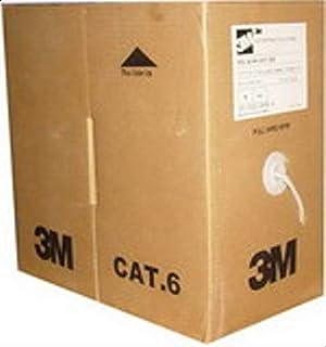 كيبل UTP CAT 6 3M -305 متر صندوق