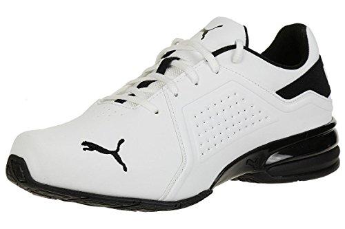 PUMA Viz Runner, Zapatillas de Running Hombre, Blanco White Black, 43 EU