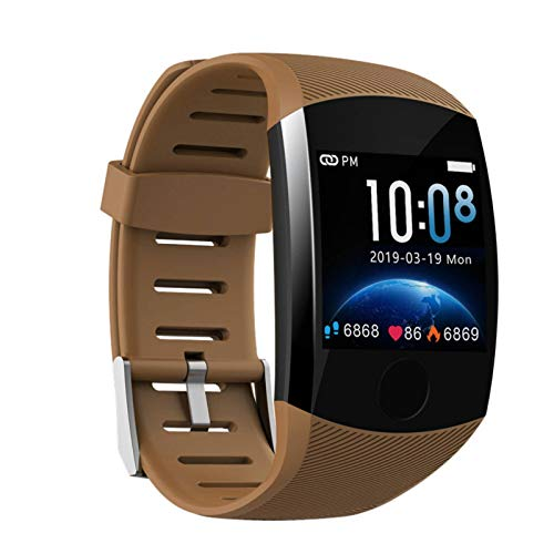 N-B Watch Large Color Screen Smart Sports Bracelet Continuous Heart Rate Blood Pressure Monitoring Multi-Sport Mode Watch