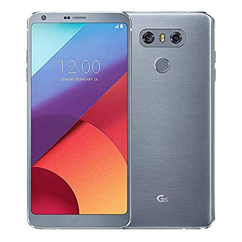 LG G6 H871 32GB AT&T GSM Unlocked Android Phone - Ice Platinum (Renewed)