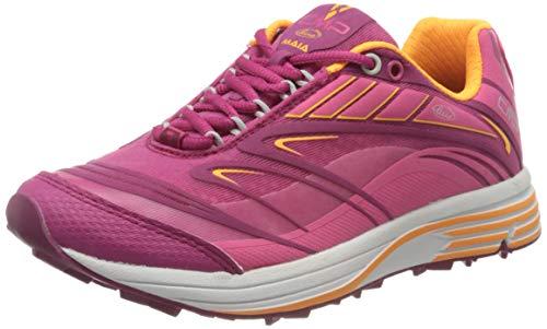 CMP – F.lli Campagnolo Maia Wmn Shoes, Zapatillas de Trail Running Mujer, Pink Bouganville Goji 06he Peluche, 36 EU