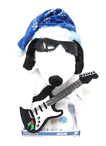 Dan Dee Snoopy Peanuts Sing and Twist with Guitar Plays Linus & Lucy