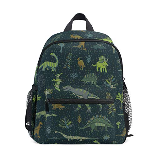 Mini Mochila Daypack Dinosaur Forest Mochila Bolsa Ligera para niñas niños