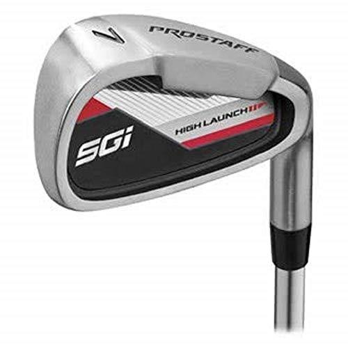 Wilson Herren PRO STAFF SGI STL MLH 5-SW Golfschläger Set, Mehrfarben,