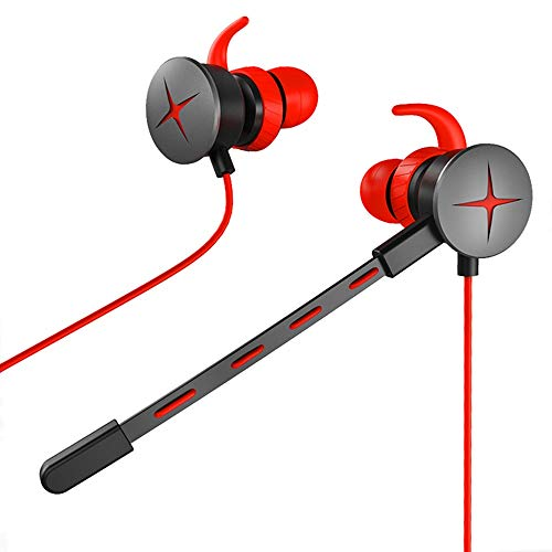 YANG1MN Estéreo De 3,5 Mm En La Oreja Esports Gaming Headset con Tapones For Los Oídos Micrófono con Cable De Juego De Auriculares Auriculares De Teléfono Móvil Auricular Equipo Auricular