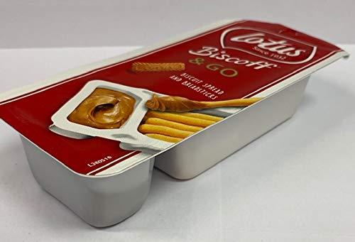 Lotus Biscoff & Go – 8 Verpakkingen Biscuit Spread en Broodsticks
