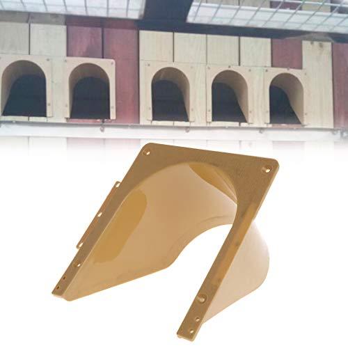 yfairy pájaro jaula Puerta–Palomas Puerta Barrera Libre Entrada Paloma Pájaro jaula de accesorios plástico requisitos Productos