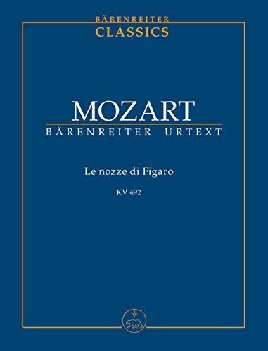 Le nozze di Figaro KV 492 -Opera buffa in vier Akten-. Studienpartitur, Urtextausgabe