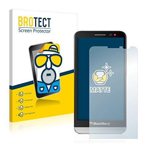 BROTECT 2X Entspiegelungs-Schutzfolie kompatibel mit BlackBerry Z30 Bildschirmschutz-Folie Matt, Anti-Reflex, Anti-Fingerprint