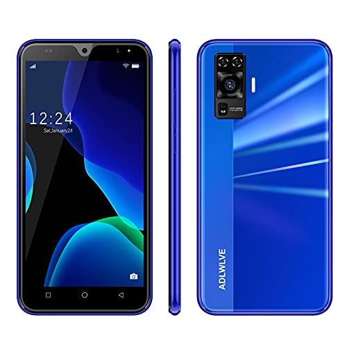 4G Smartphone Offerta del Giorno,64GB Espansa | 16GB ROM 5.5 Pollici Android 9.0 8MP, Offerta Del Giorno Smartphone Telefono Cellulare con Wifi Dual SIM 3600mAh Cellulari e Smartphone (blu)