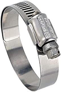 Ideal Tridon 6724M51#24 Stainless Steel Worm Drive Clamp with 316 Stainless Steel Screw, 1-1/4