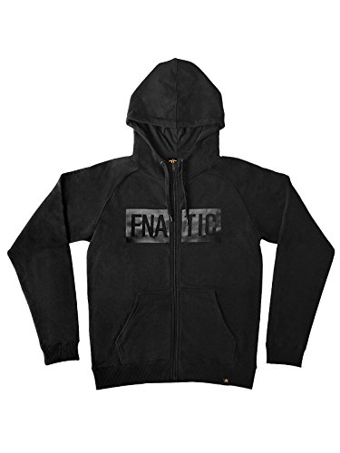 Fnatic Zipped Hoodie, Black Line Collection, Black, M