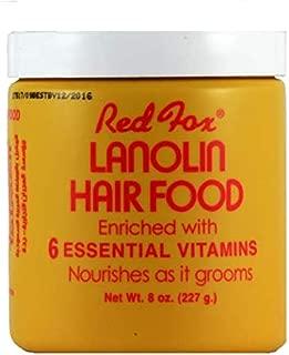 red fox lanolin hair food 227 g