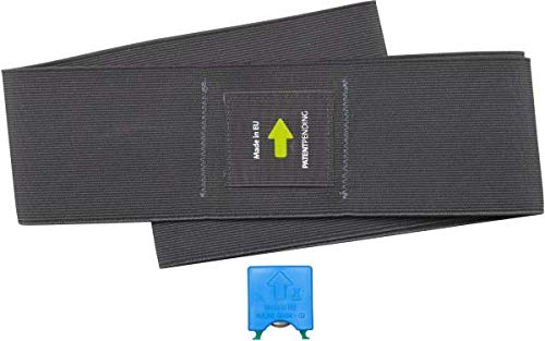 MFT Balance Sensor Sit Ball Flexband für den SITZBALL inkl. Fitness Trainer App/digitaler Physiotherapeut I Via Bluetooth verbinden I Rückentrainer für Büro & Zuhause