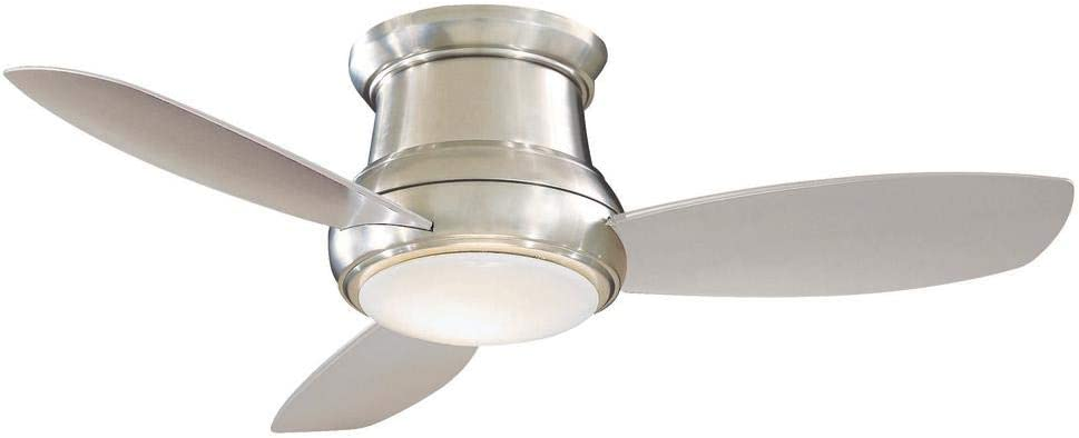 44-Inch Minka Lavery Brushed Max 78% OFF Nickel with Ceiling Light Very popular! Fan LED