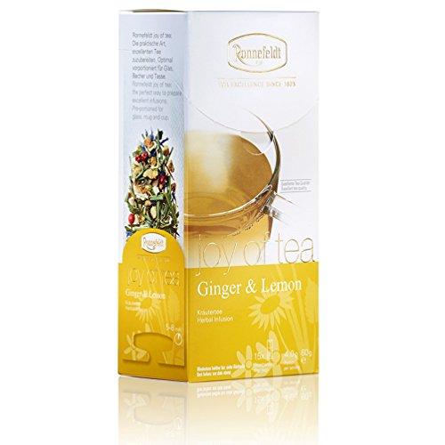 Ronnefeldt Ginger & Lemon