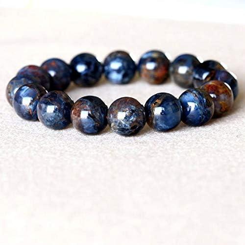 GEMS-WORLD Beads Overseas parallel import Atlanta Mall regular item Gemstone 1 Strands Pietersite Gold Blue Natural
