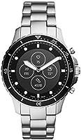 Fossil FB-01 Hybrid HR Silver Smartwatch FTW7016