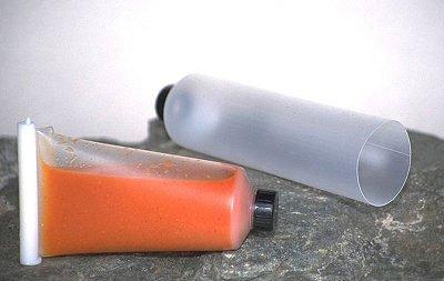 Futtertube - Leckerlietube - befüllbare Futter Tube