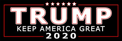 Trump | Keep America Great Bumper Sticker | Politische Wahl Autoaufkleber