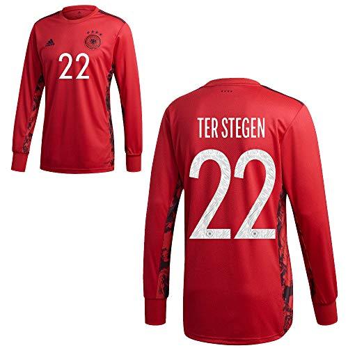 adidas DFB Deutschland Home Torwart Trikot Heimtrikot EM 2020 Herren TER Stegen 22 Gr XXXL