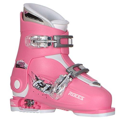 Roces Idea Up G Mädchen Skischuhe – 19-22/Deep Pink (2 Schnallen)