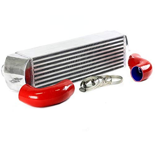 Red Compatible For Bmw 135 135i 335 335i E90 E92 2006-2010 N54 Twin Turbo Intercooler Kit