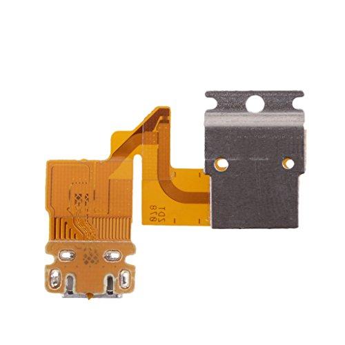 Almencla 1 Unids Puerto De Carga Flex Cable Piezas del Conector De Cinta para Sony Xperia Tablet Z 3G SGP341 / SGP311 / SGP312 / SGP321 / SGP351
