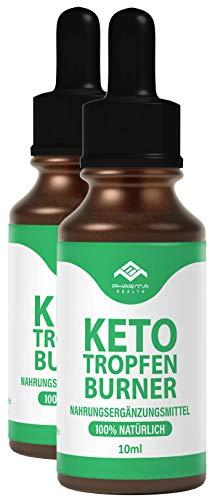Keto Tropfen Burner | Ketogen Drops | Schnell & Extrem & Leicht nutzten (Lipo) | 10 ml (2)