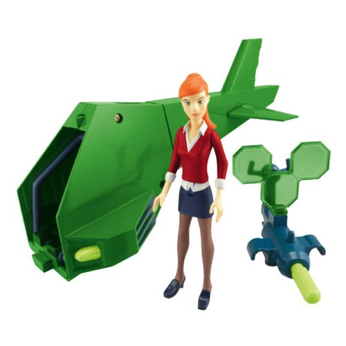 Ben 10 Ultimate Alien Vehicle - Gwen's Helicopter