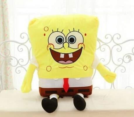zjq Kuscheltier 40 cm Spongebob Plüschtier Weiche Anime Cosplay Puppe Kinderspielzeug Cartoon Charakter Mat