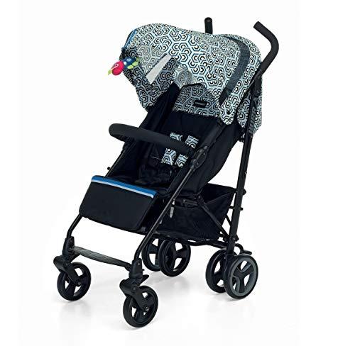 Foppapedretti Hurrà Passeggino Compatto per Bambini da 0 a 3 Anni, Royal Blue