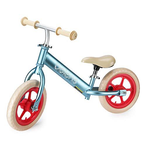 YSCYLY Das Lauflernrad,Für 2-5 Jahre mit Einstellbarer Sattelhöhe,FüR Jungen Und MäDchen Kinder