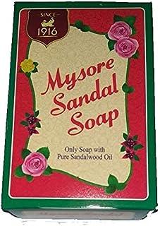 Mysore Sandal Mysore Sandal Soap, 75 Grams (Brown, Pack of 5)