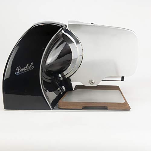 Palatina Werkstatt | Berkel Home Line 250 | Premium-Aufschnittmaschine | schwarz | neues Modell 2020 | + Alu-Eschebrett