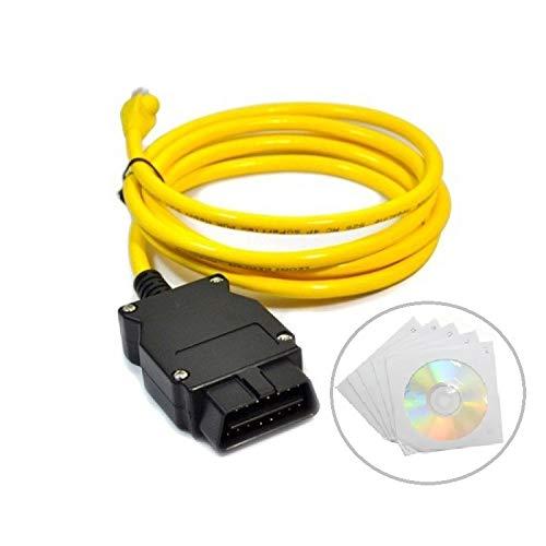 Goldplay Enet Ethernet auf OBD Schnittstellenkabel, E-SYS Coding alle F-Serie mit Software