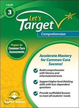 Paperback Let's Target Comprehension Student Edition Grade 3 Book