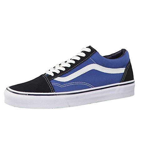 VANS Unisex-Erwachsene Old Skool Sneakers, Colour is Blue (Navy), 47 EU