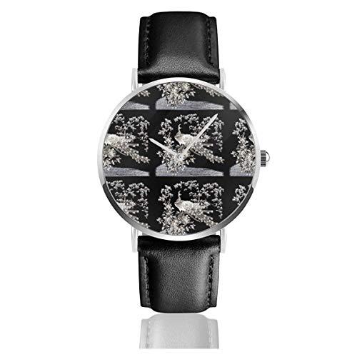 Reloj de Pulsera Reloj de Cuarzo Vintage Retro Kitsch Albino Pavos Reales...